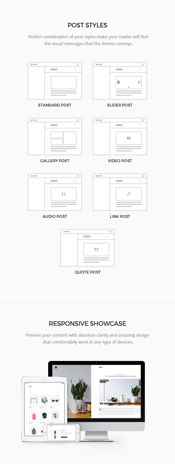 Signy Theme Layouts
