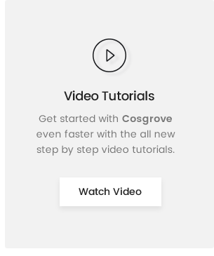 Cosgrove Video Guide