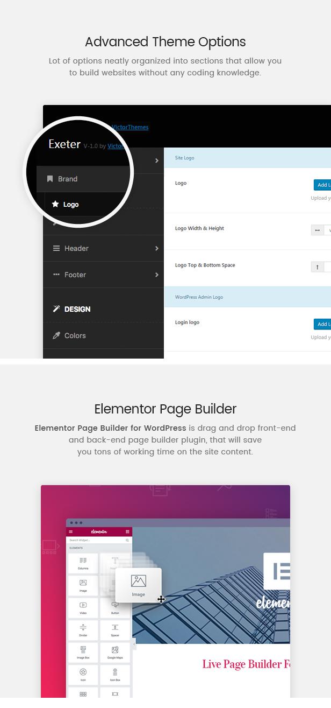 Exeter Theme Options & Visual Composer Exeter - Personal Portfolio WordPress Theme Nulled Free Download Exeter – Personal Portfolio WordPress Theme Nulled Free Download 2 main features