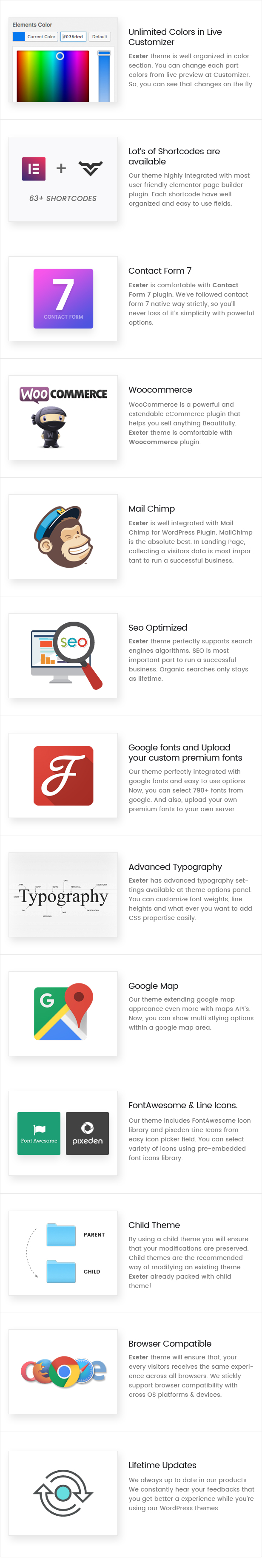 Exeter Features Exeter - Personal Portfolio WordPress Theme Nulled Free Download Exeter – Personal Portfolio WordPress Theme Nulled Free Download 3 small features