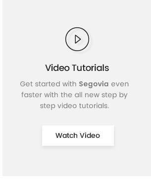 Segovia Video Guide