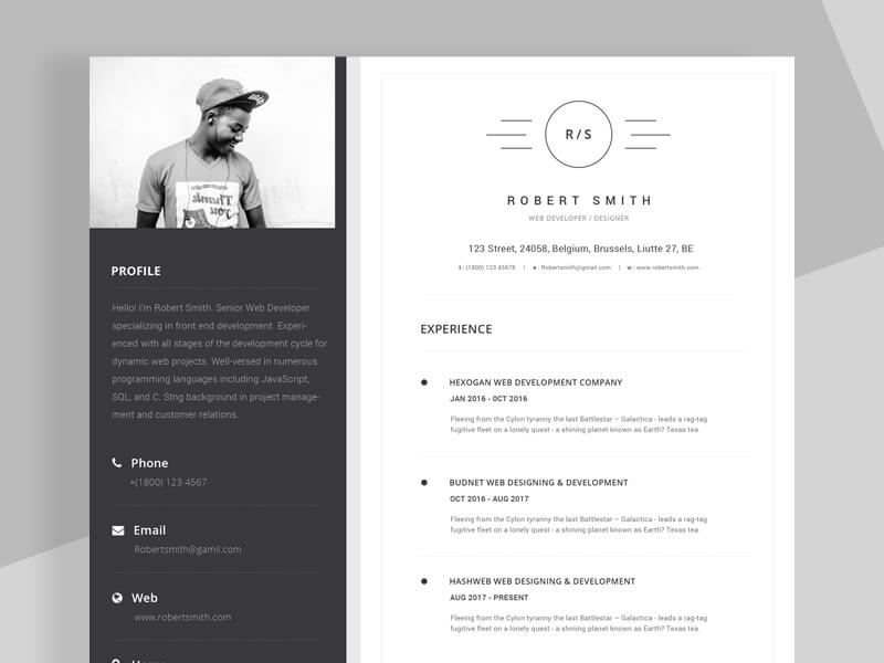 Resume Template 800 X 600 02 (1)  Resume Or Cv